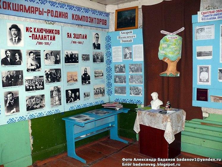 Иван Степанович Палантай - В музее села Кокшамары